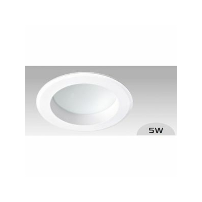 Aric - Spot LED 5W - 390lm 3000K - IP44 - 90° - Diffuseur opale - 50330