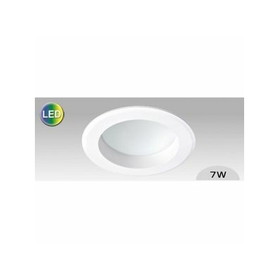 Aric - Spot LED 7W - 540lm 3000K - IP44 - 90° - Diffuseur opale - 50331