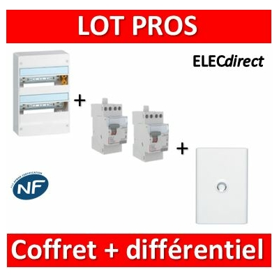 Legrand - LOT - largeur 355mm - 401222+411611+411617+401232