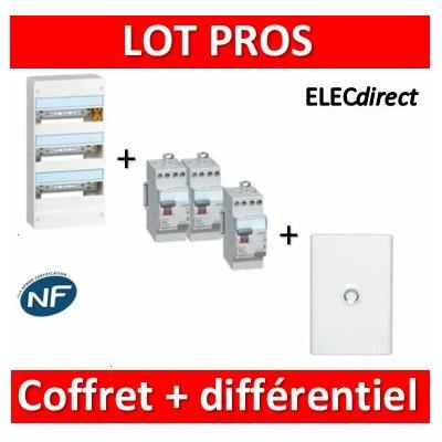 Legrand - LOT - 401213+411611x2+411617+401333
