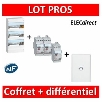 Legrand - LOT - 401223+411611x2+411617+401233