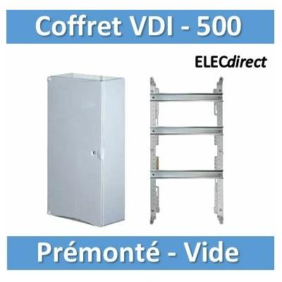 Tonna - Coffret 500 + porte blanche prémonté - 828510