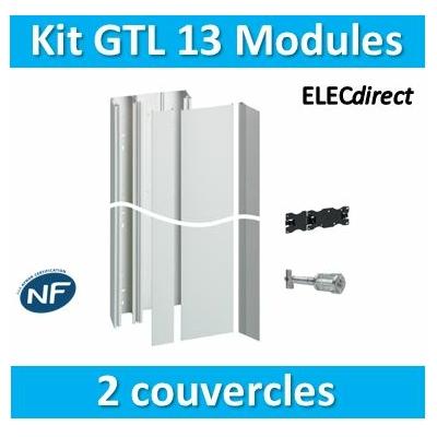 Hager - Kit GTL 13 Modules - 2 couvercles - 2x1,3m - JK213D