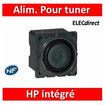 Legrand - Alimentation pour tuner avec HP intégré Céliane - 067321