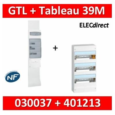Legrand - Kit GTL 13M complet + tableau 39M - 030037+401213