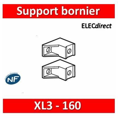Legrand - Support bornier IP 2X (2) - pour coffrets XL³ 160 - 020050