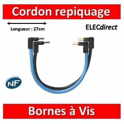 Legrand - Jeu de Cordon de repiquage Ph/N pour bornes à vis - 404903