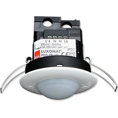 B.E.G - Détecteur de mouvement avec zone de détection circulaire - Plafond - Blanc - Encastré - 92197