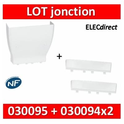 Legrand - Cornet d'épanouissement + 2 cornets de fintion - Drivia 13 modules - 030095+030094x2