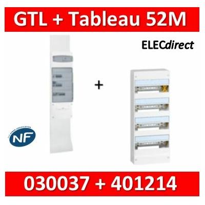Legrand - Kit GTL 13M complet + tableau 52M - 030037+401214