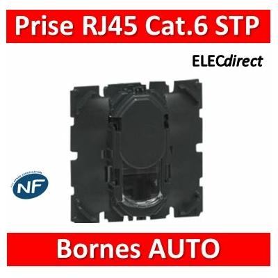 Legrand - Prise simple RJ 45 cat. 6 STP TV, téléphone, informatique - 067396