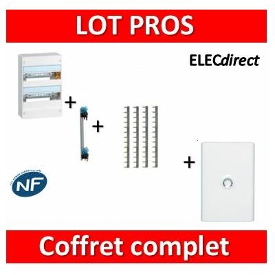 Legrand - LOT PROS - Coffret DRIVIA 26 M + peigne + porte - 401212+405000+404926x4+401332