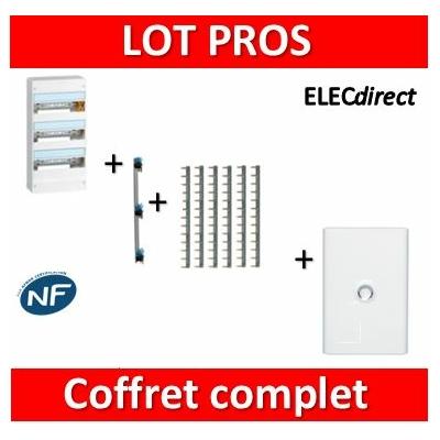 Legrand - LOT PROS - Coffret DRIVIA 39 M + peigne + porte - 401213+405001+404926x6+401333