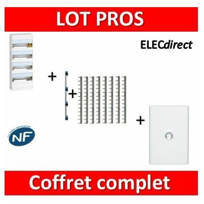 Legrand - LOT PROS - Coffret DRIVIA 52 M + peigne + porte - 401214+405002+404926x8+401334