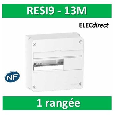 Schneider - Resi9 - coffret 13M - 1R - R9H13401