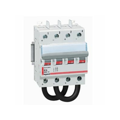 Legrand - Inter-sectionneur 800 V= - 16 A - 4 modules - 414221