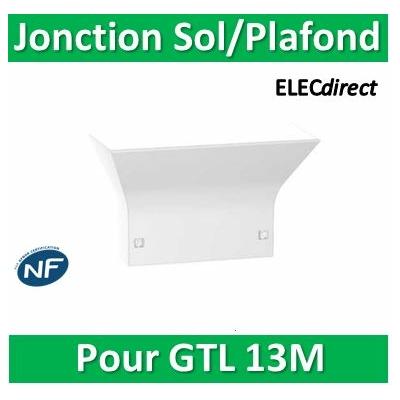 Schneider - Jonction Goulotte/sol et plafond pour goulotte GTL RESI9 13 modules - R9H13540