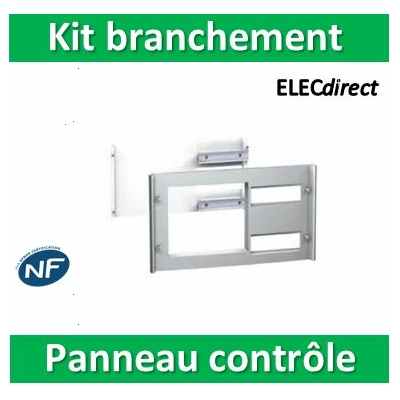 Schneider Pragma - kit de branchement 1P - coffret saillie 24 mod. - blanc titane - PRA91063
