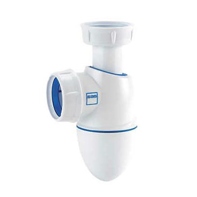 Siphon lavabo bi-matière Easyphon à joints intégrés BM211 Nicoll - D.32 mm