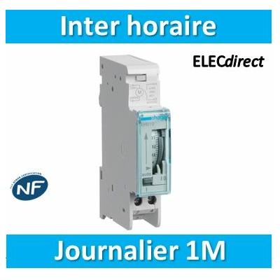 Hager - Interrupteur horaire journalier analogique - EH010