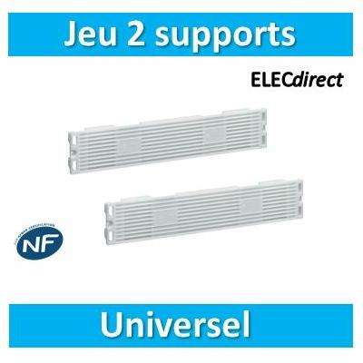Hager - Jeu de 2 supports universels - JZ104