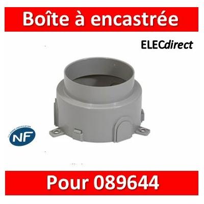 Legrand - Boîte d'encastrement béton pour boîte référence 089644 - 089649