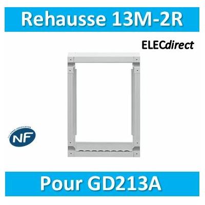 Hager - Réhausse pour GD213A - GR213AN