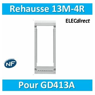 Hager - Réhausse pour GD413A - GR413AN
