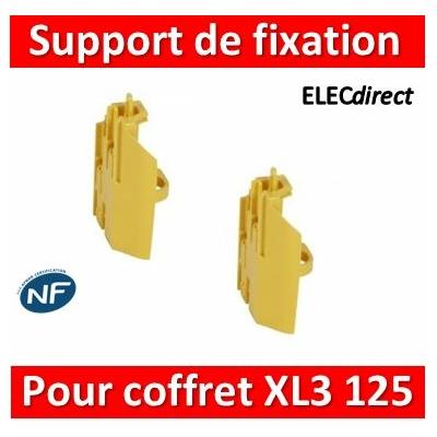 Legrand - Support de fixation pour borniers (jeu de 2) - pour coffrets XL³ 125 - 401857
