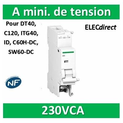 Schneider - MNx  Déclencheur pour BP à ouverture 230VCA 3A 415VCA - 6A 240VCA - A9N26969
