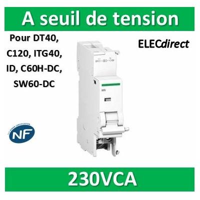 Schneider - MSU Déclencheur à seuil de tension 220 à 240 V CA - A9N26500