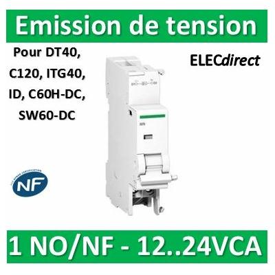 Schneider - MX+OF déclench. à émission tension + contact aux. 12...24VCA/CC - A9N26948