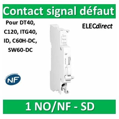 Schneider - SD contact signal défaut 240...415VCA 24...130VCC - A9N26927