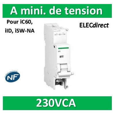 Schneider - IMN Déclencheur à minimum de tension instantanée - A9A26960