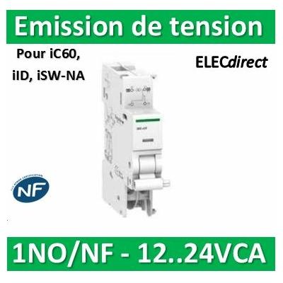 Schneider - iMX+OF déclench. à émission tension + contact aux. 12...24VCA/CC - A9A26948