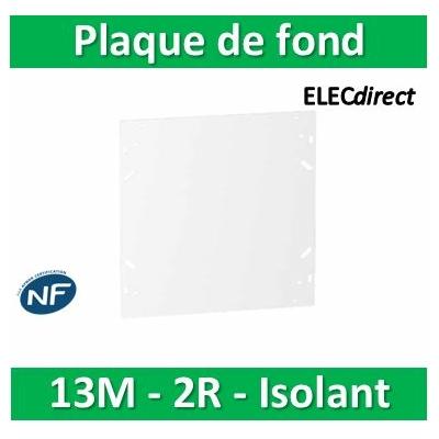 SCHNEIDER - Plaque de fond isolant pour coffret RESI9 13M - 2R - R9H13383