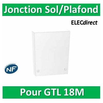 Schneider - Resi9 - pièce de jonction sol/plafond goulotte 18M - R9H18535
