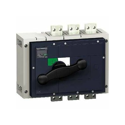 Schneider - interrupteur-sectionneur boîtier moulé Interpact INS800 3P 800 A - SCH31330