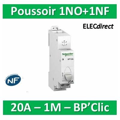 Schneider - BPCLIC NO ET NF 20A - 16187