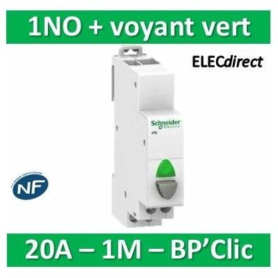 Schneider - BPCLIC NO ET VOYANT VERT - 16188