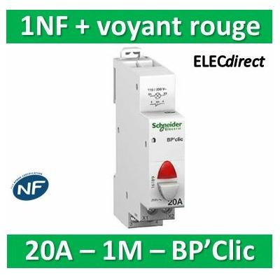 Schneider - BPCLIC NF ET VOYANT ROUGE - 16189