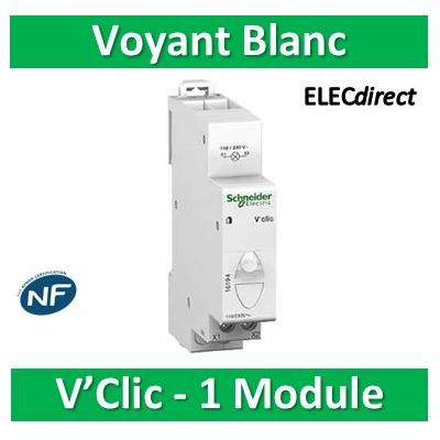 Schneider - VOYANT VCLIC BLANC 230VCA - 16194