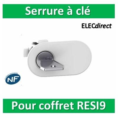 Schneider - Serrure à clé pour coffret RESI9 - R9H13388