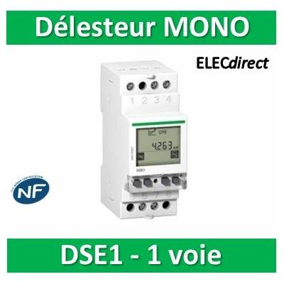 Schneider - Multi9 - DSE1 mono, contacteur délesteur 1 circuit 32A prioritaire - A9C15907
