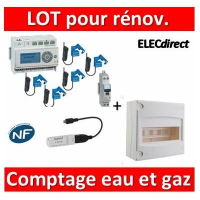 Legrand - ECOcompteur + DPN + Tableau 8M - 412002x5+412000+406771+001308+412005