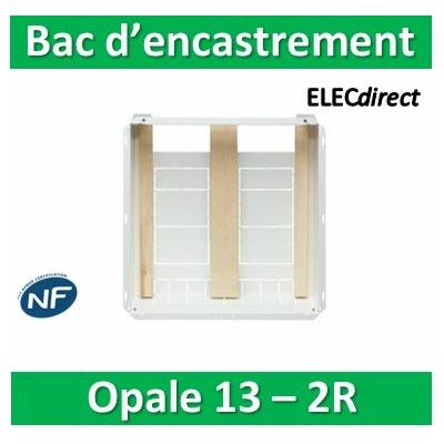 Schneider - Opale - GTL - bac d'encastrement - 655x530x180mm - blanc - OPL13292