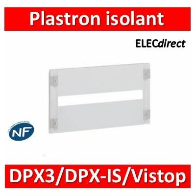 Legrand - Plastron mod isolant XL³ 160/400 - DPX³/DPX-IS 250/Vistop jusqu'à 160 A - H 300 - 020360