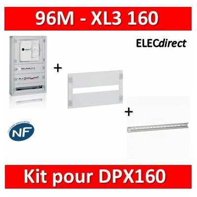 Legrand - Coffret 96 modules - avec espace dédié - XL3 160 + kit pour DPX160 - 401816+020000+020360