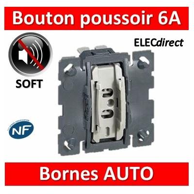 Legrand Céliane - Mécanisme Bouton poussoir - 067031