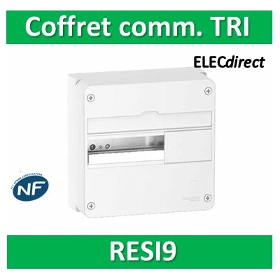 Schneider - Resi9 - coffret de communication tri - R9H10525